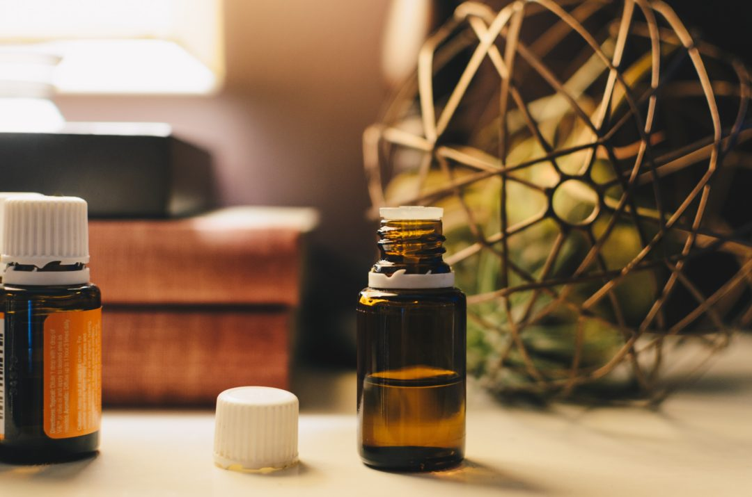 olej na ból gardła